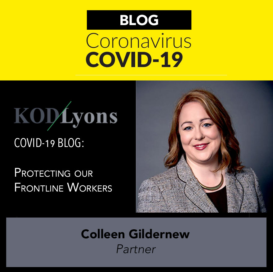 protecting frontline workers covid 19